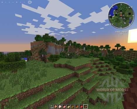 Clock HUD pour Minecraft