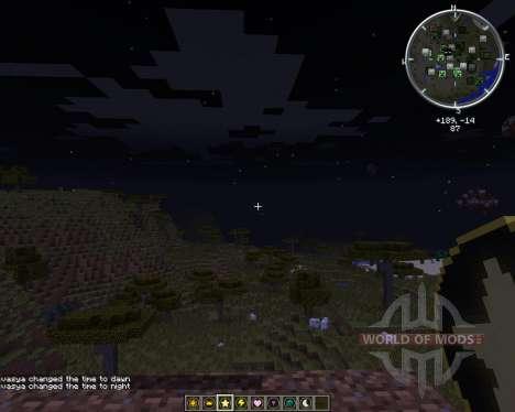 Time & Weather stones für Minecraft