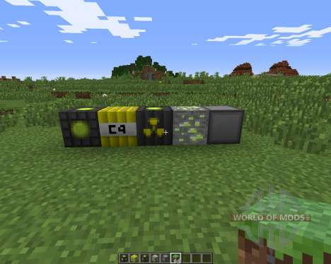 Nuclear Craft pour Minecraft