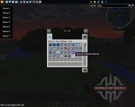 Never Say Nether pour Minecraft