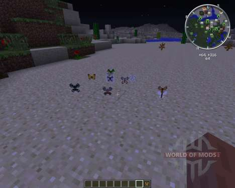 Butterfly Mania pour Minecraft
