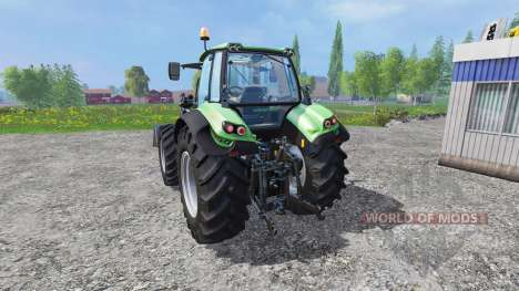 Deutz-Fahr Agrotron 7250 v2.2 Frontlader pour Farming Simulator 2015