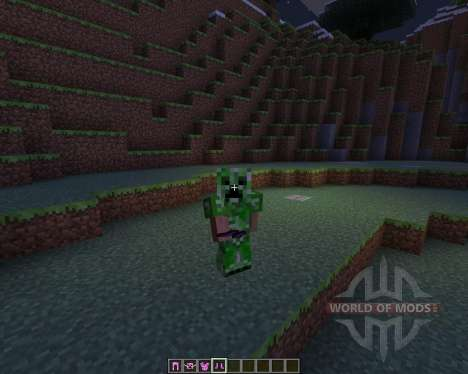 Female Creepers pour Minecraft