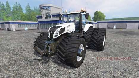 New Holland T8.320 600EVOX v1.12 für Farming Simulator 2015