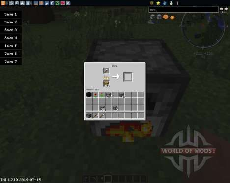 SmeltToIngots pour Minecraft