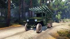 ZiS-5 BM-13 pour Spin Tires