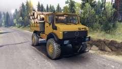 Mercedes-Benz Unimog U1500L für Spin Tires
