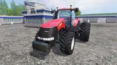 Case IH Magnum CVX 380 dynamic rear twin wheels