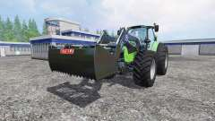 Deutz-Fahr Agrotron 7250 Forest King green