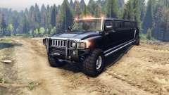 Hummer H3 Limousine für Spin Tires