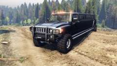 Hummer H3 Limousine pour Spin Tires