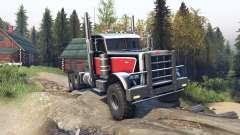 Peterbilt 379 v1.1 red black für Spin Tires