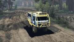 UAZ 3909 off-road für Spin Tires