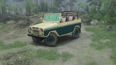 UAZ 469 für Spin Tires