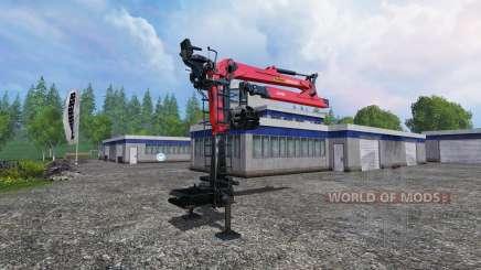 Die hydraulischen Kran Palfinger Epsilon M80F für Farming Simulator 2015