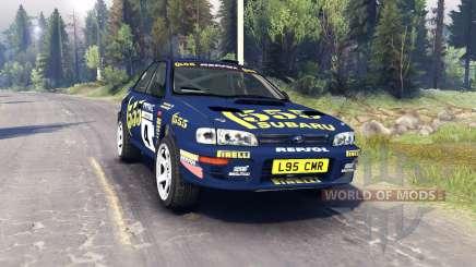 Subaru Impreza für Spin Tires