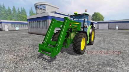 John Deere 6110RC Full für Farming Simulator 2015