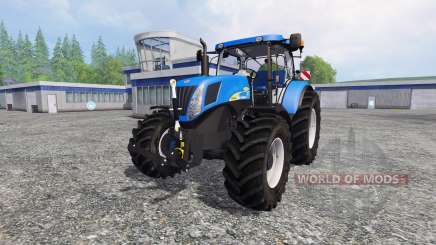 New Holland T7040 v2.0 für Farming Simulator 2015