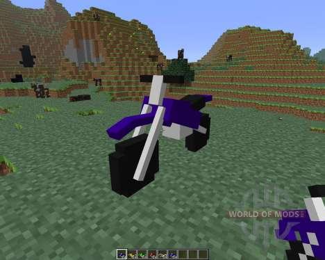 The Dirtbike [1.6.4] für Minecraft