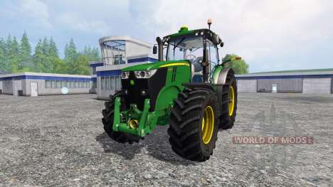 John Deere 7200R new version pour Farming Simulator 2015