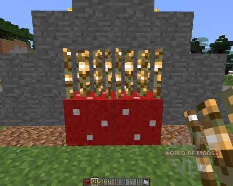 B0bGarys Growable Ores [1.6.4] pour Minecraft