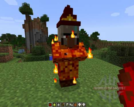Elemental Witch [1.7.2] pour Minecraft