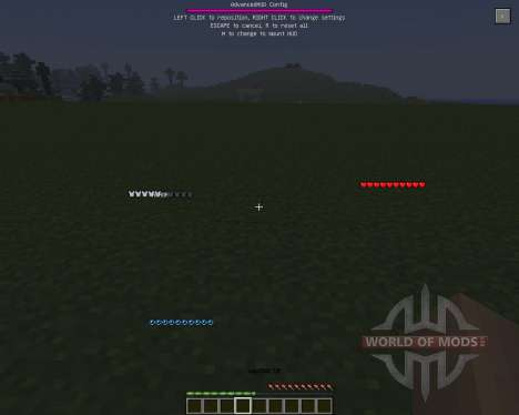 Advanced HUD [1.6.4] für Minecraft