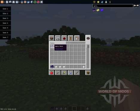 Warp Book [1.7.2] pour Minecraft