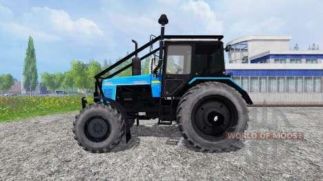 MTZ-W de la forêt pour Farming Simulator 2015