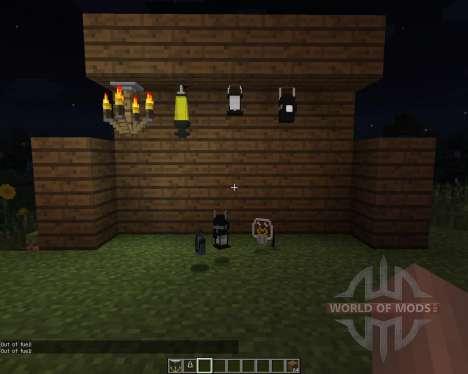 Amnesia Lights [1.7.2] pour Minecraft