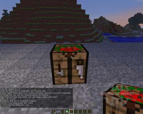 Christmas Festivities [1.6.4] pour Minecraft