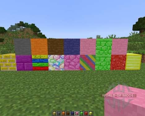 Colored Blocks [1.7.10] für Minecraft