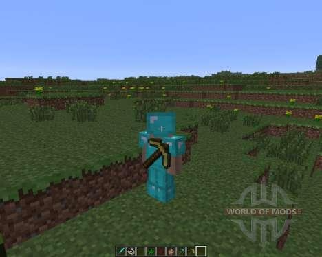 Back Tools [1.6.4] für Minecraft