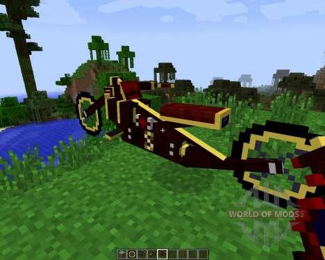 Steam Bikes [1.7.2] pour Minecraft