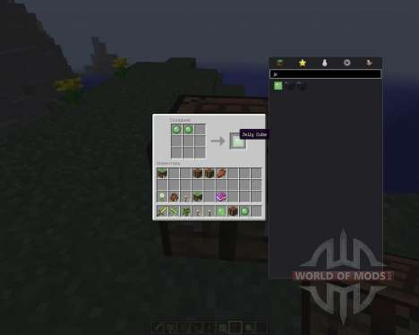 Jelly Cubes [1.8] pour Minecraft