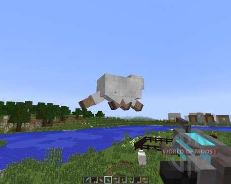 Gravity Gun [1.7.10] für Minecraft