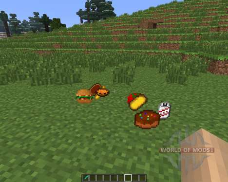 Food Plus [1.6.4] pour Minecraft