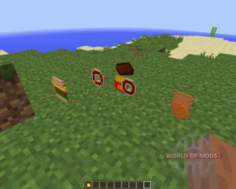 Extra Food [1.8] pour Minecraft