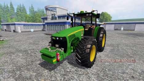 John Deere 8220 pour Farming Simulator 2015