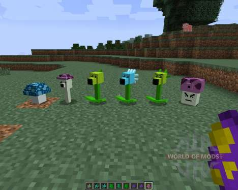 Plants vs Zombies [1.7.2] für Minecraft