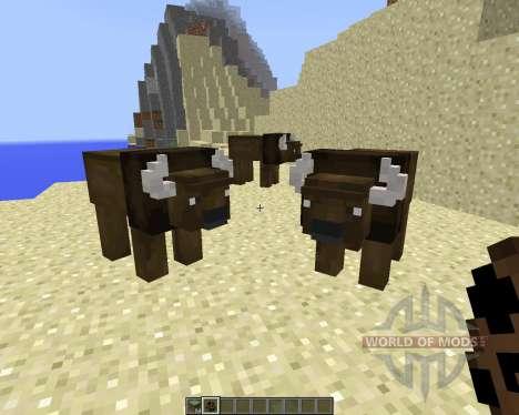 Bison [1.8] pour Minecraft