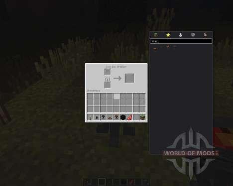 Brazier pour Minecraft