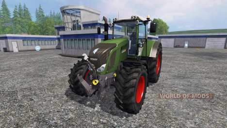 Fendt 828 Vario Ploughing Spec für Farming Simulator 2015