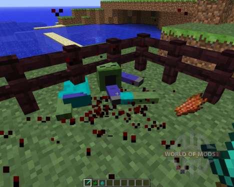 Mob Dismemberment [1.5.2] pour Minecraft