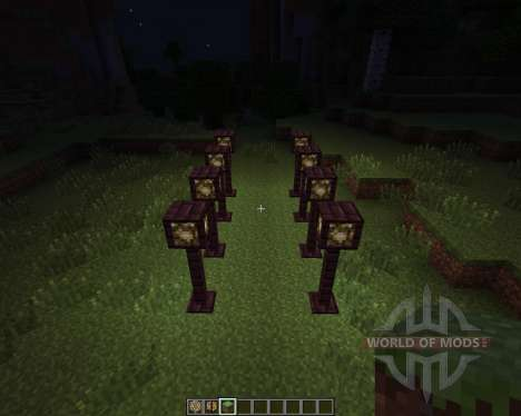 Lamp Posts [1.7.2] pour Minecraft