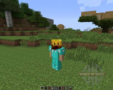 Mob Masks [1.7.2] pour Minecraft