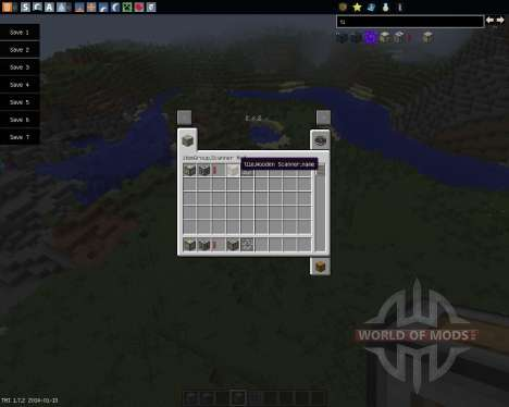 Chunk Analyzer [1.7.2] pour Minecraft