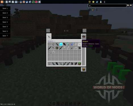 Weapons [1.7.2] für Minecraft