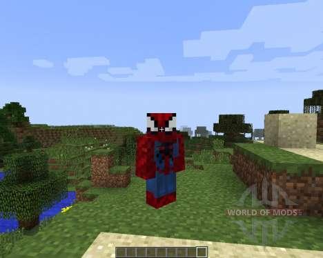 Spider Man [1.7.2] pour Minecraft