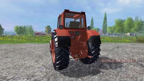 MTZ-80 machine pour Farming Simulator 2015
